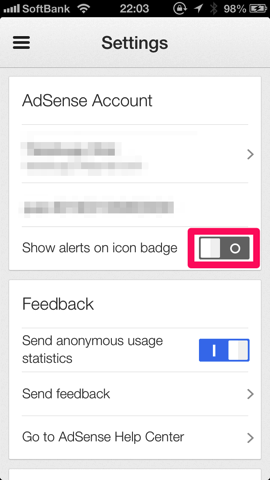 Google AdSense 設定